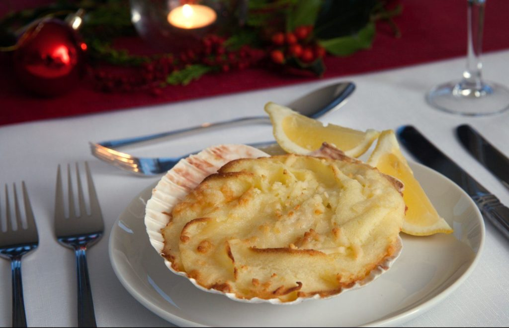 Coquilles St.Jacques Xmas
