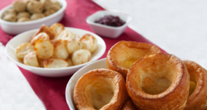 Roast Pots, Stuffing and Yorkshires