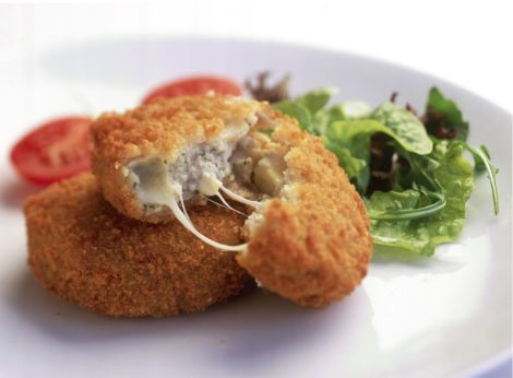 Tuna and Mozzarella Fish Cakes