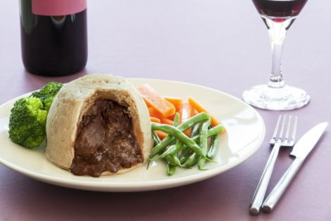 Steak and Kidney pudding suet