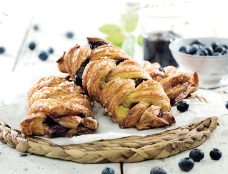 Blueberry Plait