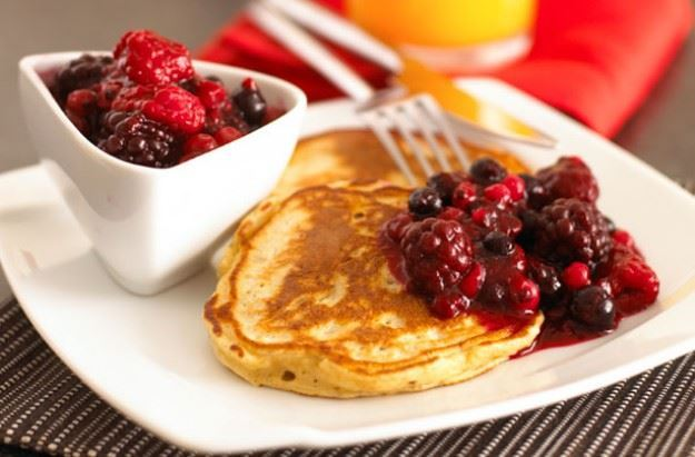 Summer Fruit Pancakes
