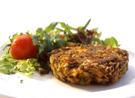 Lentil and Vegetable Burger