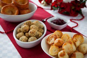 Roasted potatoes Christmas