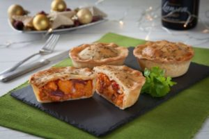 Gluten Free Roasted Vegetable & Goats Cheese Pie