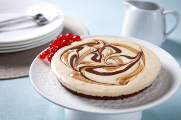 Salted caramel cheesecake L