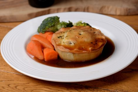 Gluten Free Steak and Ale Pie