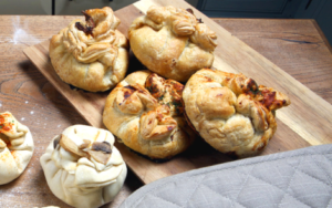 Puff Pastry Purses