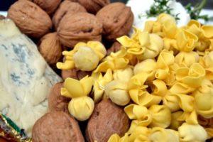Blue Cheese and Walnut Saccotini