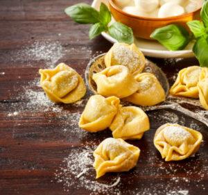 Mortadella Sausage and Cheese Tortellini