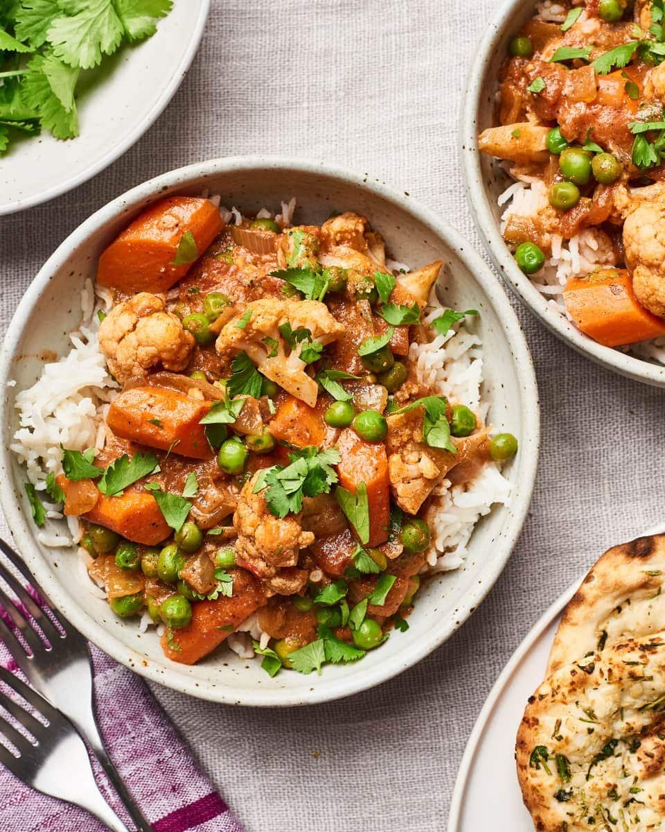 Easy Vegetarian Tikka Masala (Vegan)